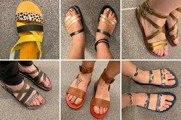 Workshop sandalen maken