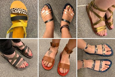 Workshop sandalen maken