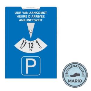 Europese parkeerschijf